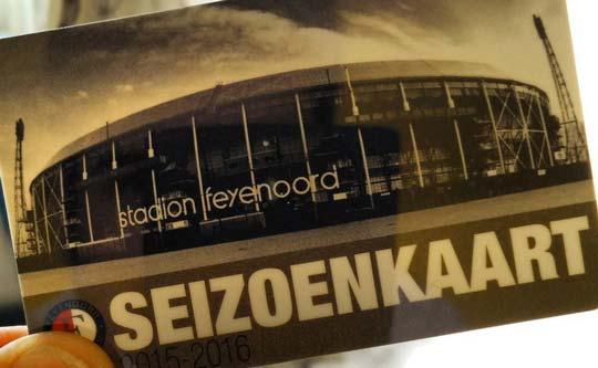 Feyenoord seizoenskaart