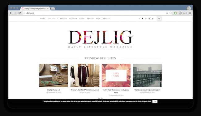 Nieuwe site live: dejlig.nl