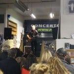Gavin James optreden tijdens Eurosonic 2015 in Plato Groningen
